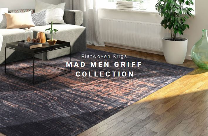 louis de poortere mad man collection rug